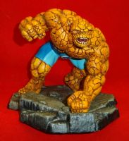 Corgi - The Thing - 1/12 Scale Hand Painted Die-Cast Metal Statue